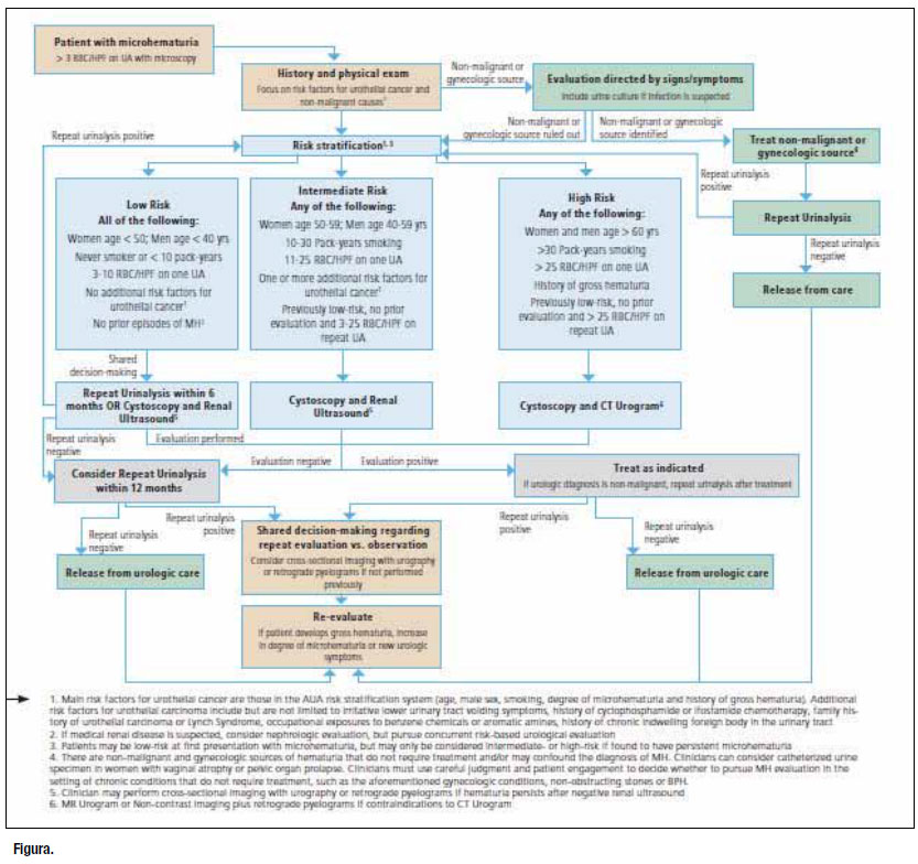 Urologo en Cali microhematuria